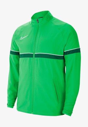 FUSSBALL ACADEMY - Training jacket - gruenweiss