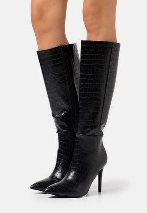 PRESIDENT - High heeled boots - black