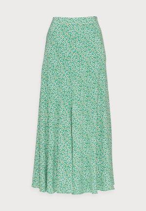SKIRT FIELD FLOWER - A-line skirt - green