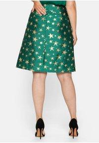 Sheego - A-line skirt - powergrün - 2