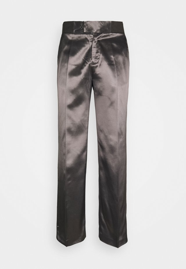 PARKER TUXEDO TROUSERS - Broek - dark brown