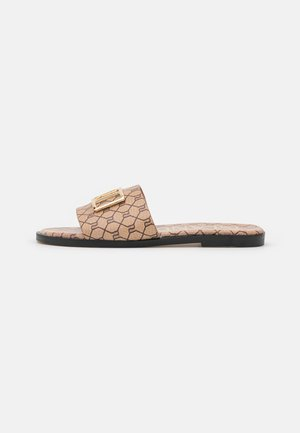 Sandalias planas - brown/light