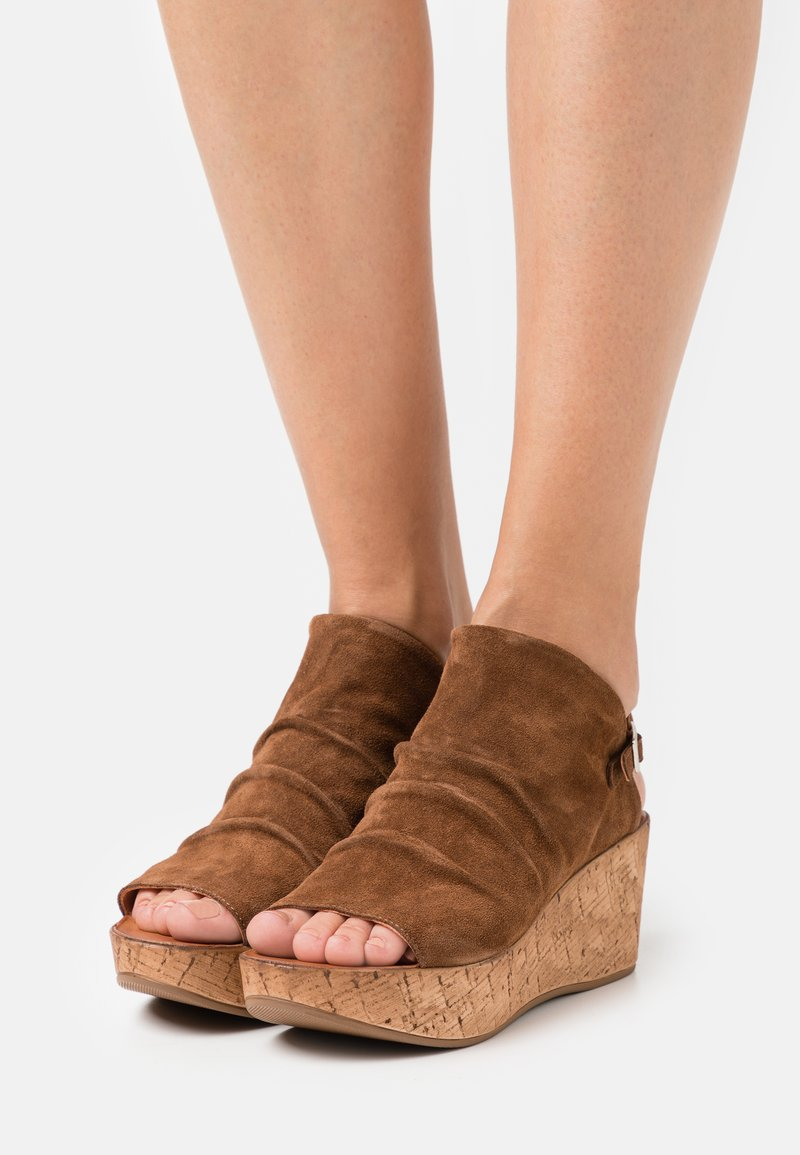 Felmini - MONACO - Platform sandals - brown