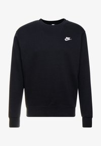 Nike Sportswear - CLUB - Sweatshirt - black/white - 3