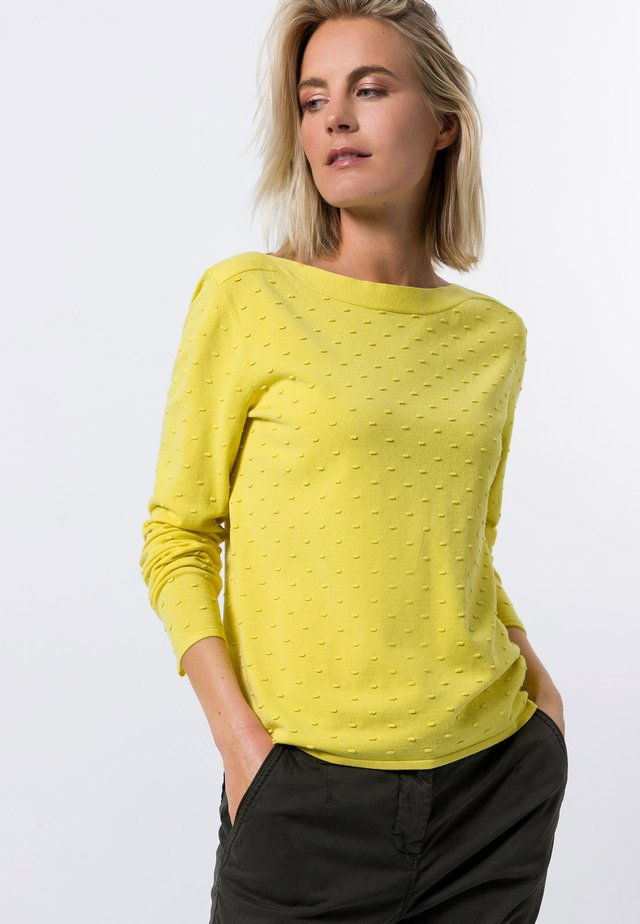 Jumper - yellow lime
