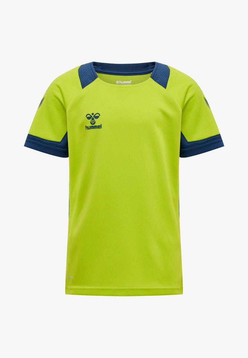Hummel - Print T-shirt - lime punch