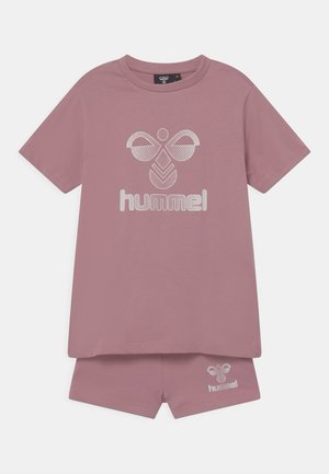 PROUD SET - T-shirt print - lilas