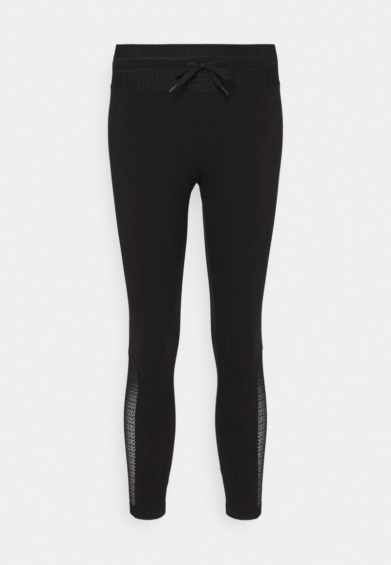 Desigual - DESAGUJADO - Leggings - Trousers - black