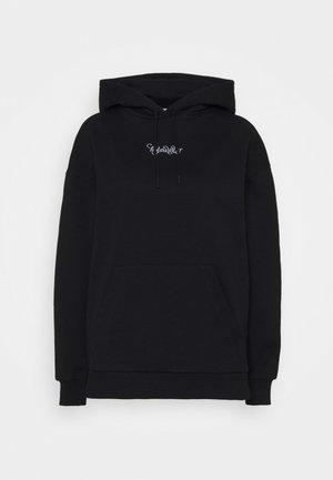 PLACEBO HOODIE  - Sweatshirt - black