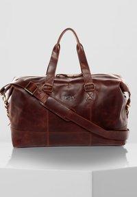 SID & VAIN - WEEKENDER - YALE - Weekend bag - braun-cognac - 0