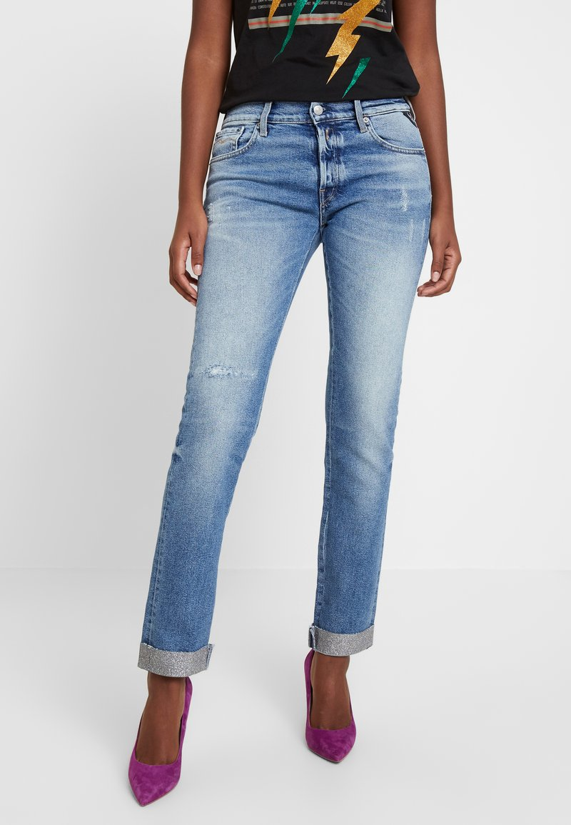 Replay - JOPLYN - Straight leg jeans - light blue