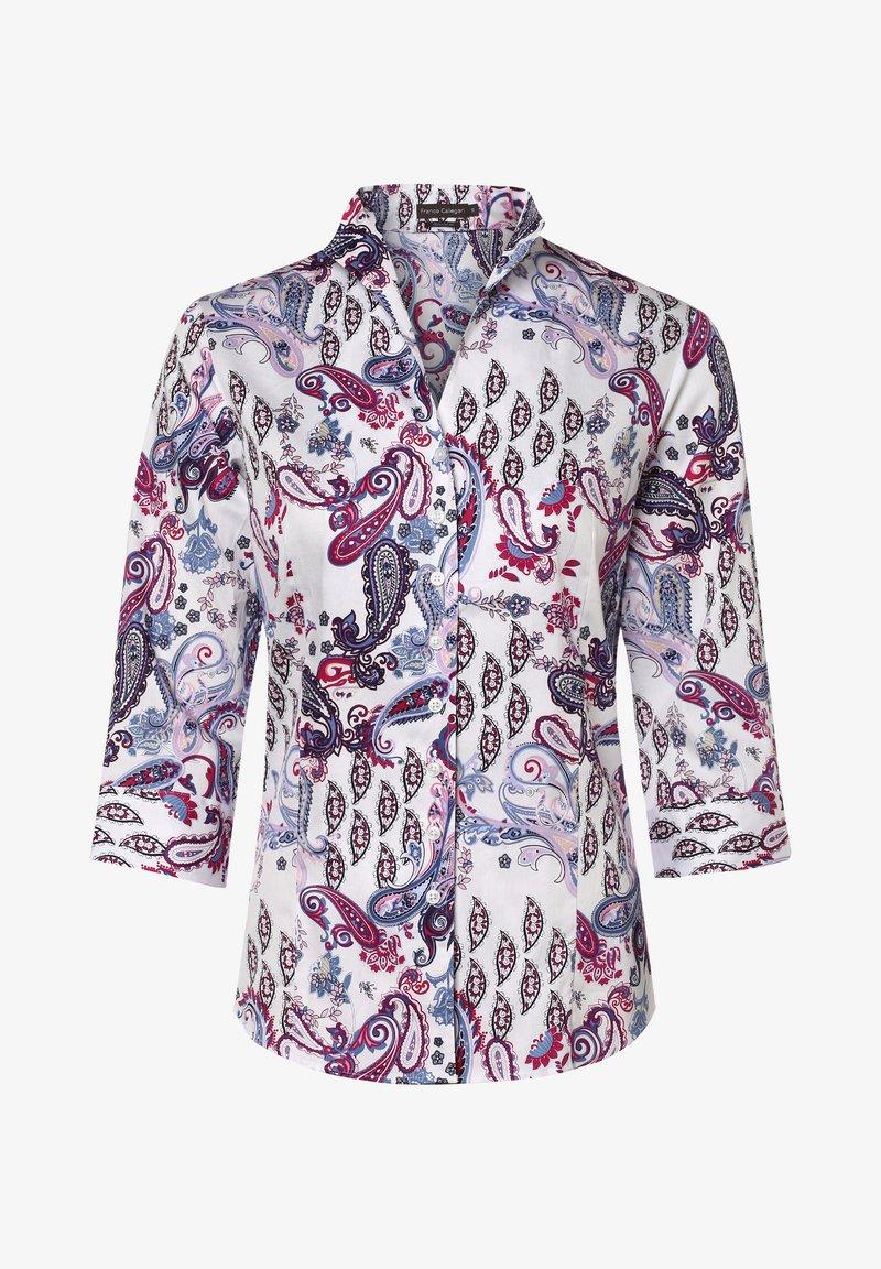Franco Callegari - Button-down blouse - fuchsia weiß