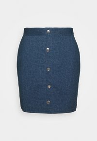 Denim skirt - dark denim
