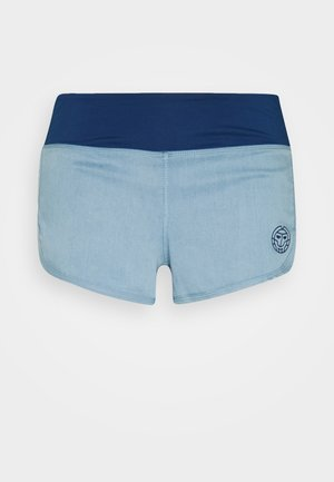 HULDA TECH SHORTS - Sportovní kraťasy - jeans/dark blue