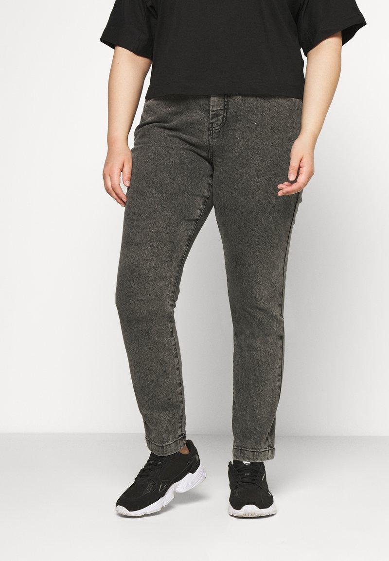 Zizzi - AMY - Jeans Skinny Fit - grey denim