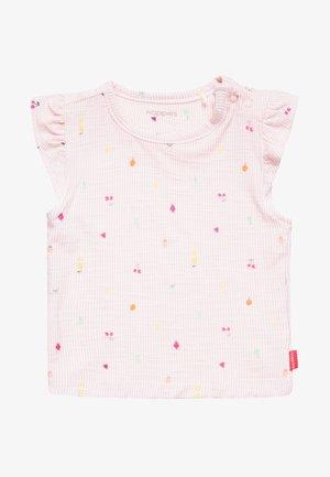 TEE SLIM FIT SOCORRO BABY - Print T-shirt - impatiens pink