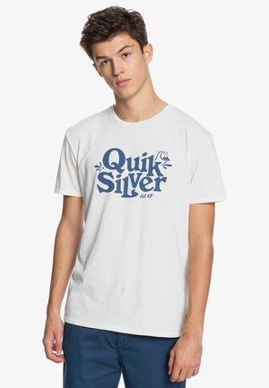 TALL HEIGHTS  - Print T-shirt - snow white
