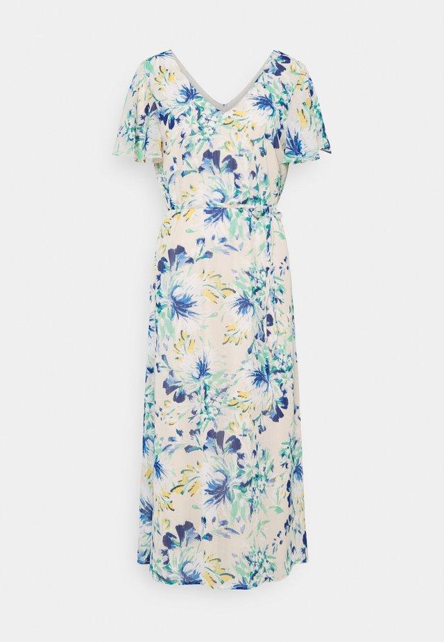 VMJASMINE CALF DRESS - Day dress - birch/jasmine