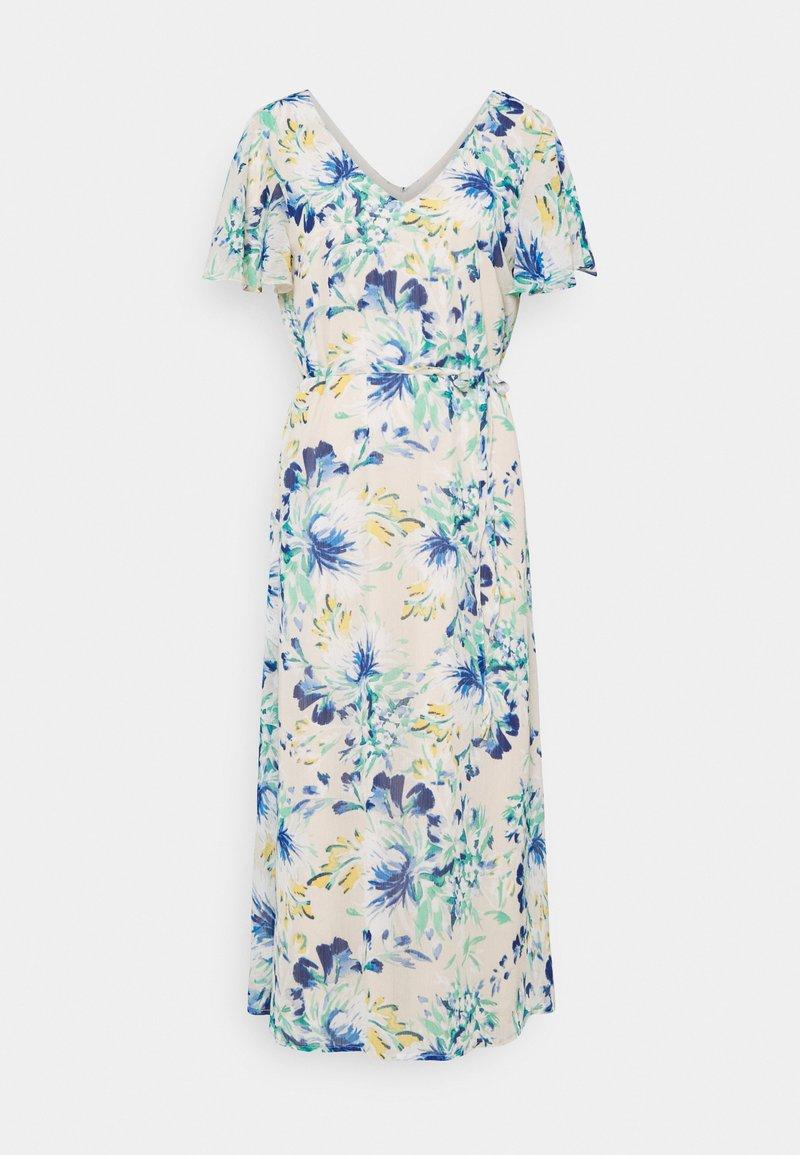 Vero Moda Tall - VMJASMINE CALF DRESS - Day dress - birch/jasmine
