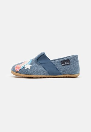 T-MODELL EINHORN REGENBOGEN - Slippers - media blue