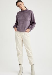 DeFacto - Fleece jumper - purple - 1