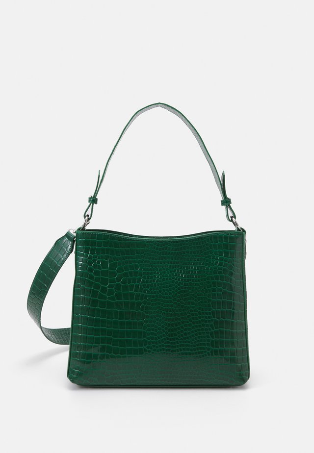 AMBLE CROCO - Handtas - green