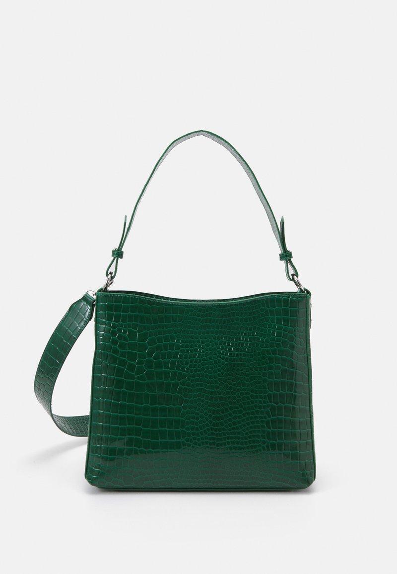 HVISK - AMBLE CROCO - Handbag - green