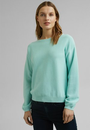 COO - Jumper - light turquoise