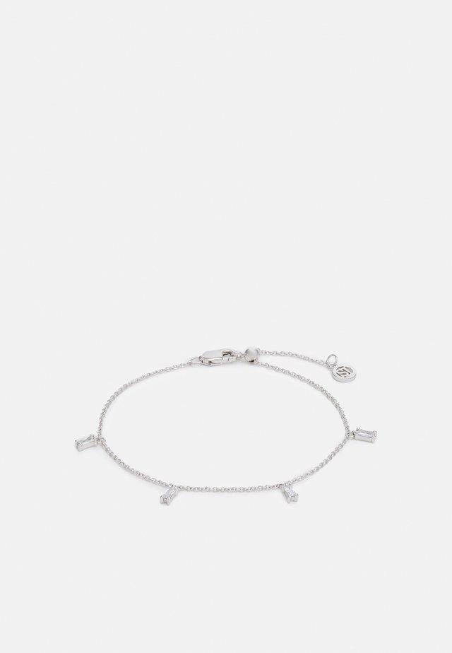 PRINCESS BAGUETTE BRACELET - Armband - silver-coloured