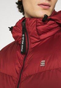 G-Star - WHISTLER PUFFER - Winter jacket - dry red - 6