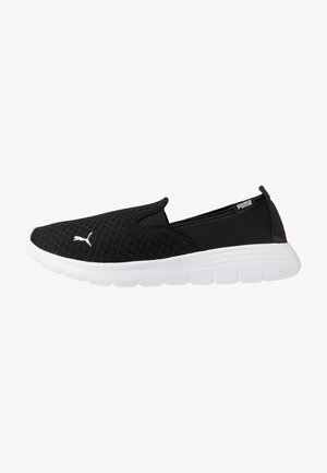 FLEX RENEW SLIPON - Zapatillas para caminar - black/white