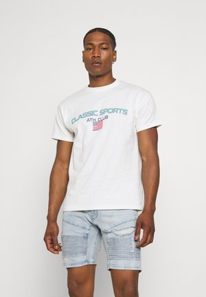 MENNACE CLASSIC SPORT  - Print T-shirt - white