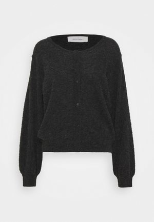 KYBIRD - Cardigan - anthracite chine