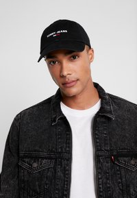 Tommy Jeans - SPORT - Cappellino - black - 1