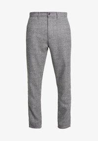 Solid - SLIM BARRO - Trousers - grey - 4