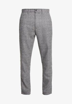 SLIM BARRO - Trousers - grey