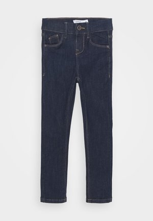 NKFPOLLY DNMTEJAS PANT - Skinny džíny - dark blue denim