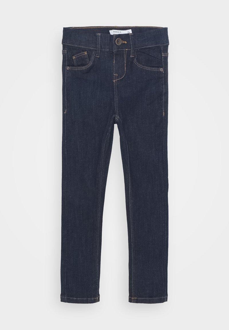 Name it - NKFPOLLY DNMTEJAS PANT - Skinny džíny - dark blue denim