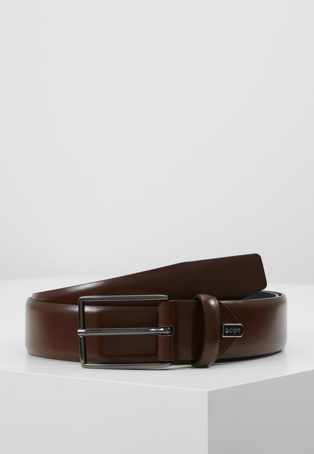 REGULAR - Belt - kastanie
