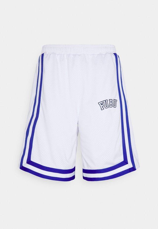 COLLEGE SHORTS  - Shorts - white