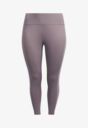 BELIEVE THIS 3-STRIPES 7/8 LEGGINGS - Leggings - purple