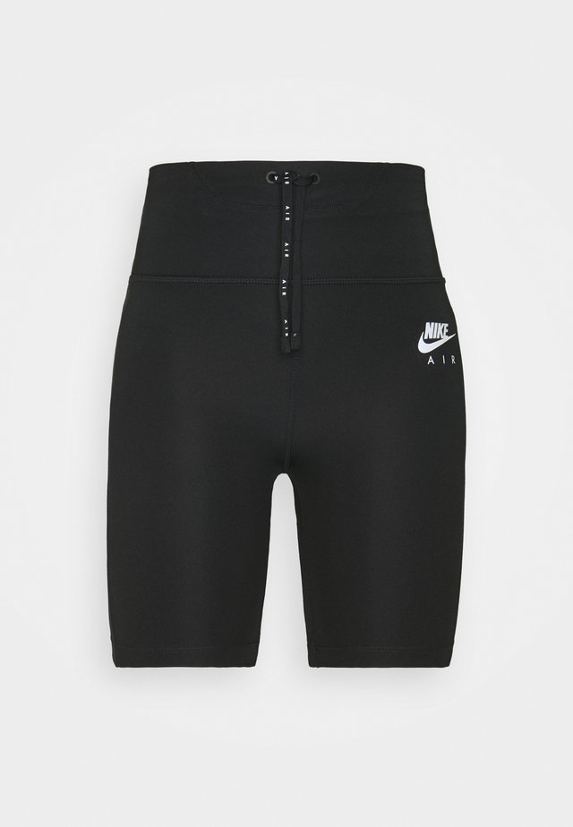 AIR SHORT - Legginsy - black/reflective silver