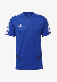 adidas Performance - TIRO - T-Shirt print - blue - 6
