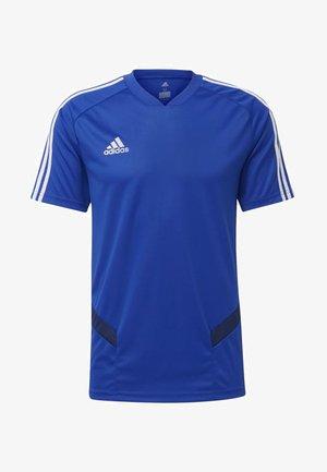 TIRO - T-shirt z nadrukiem - blue