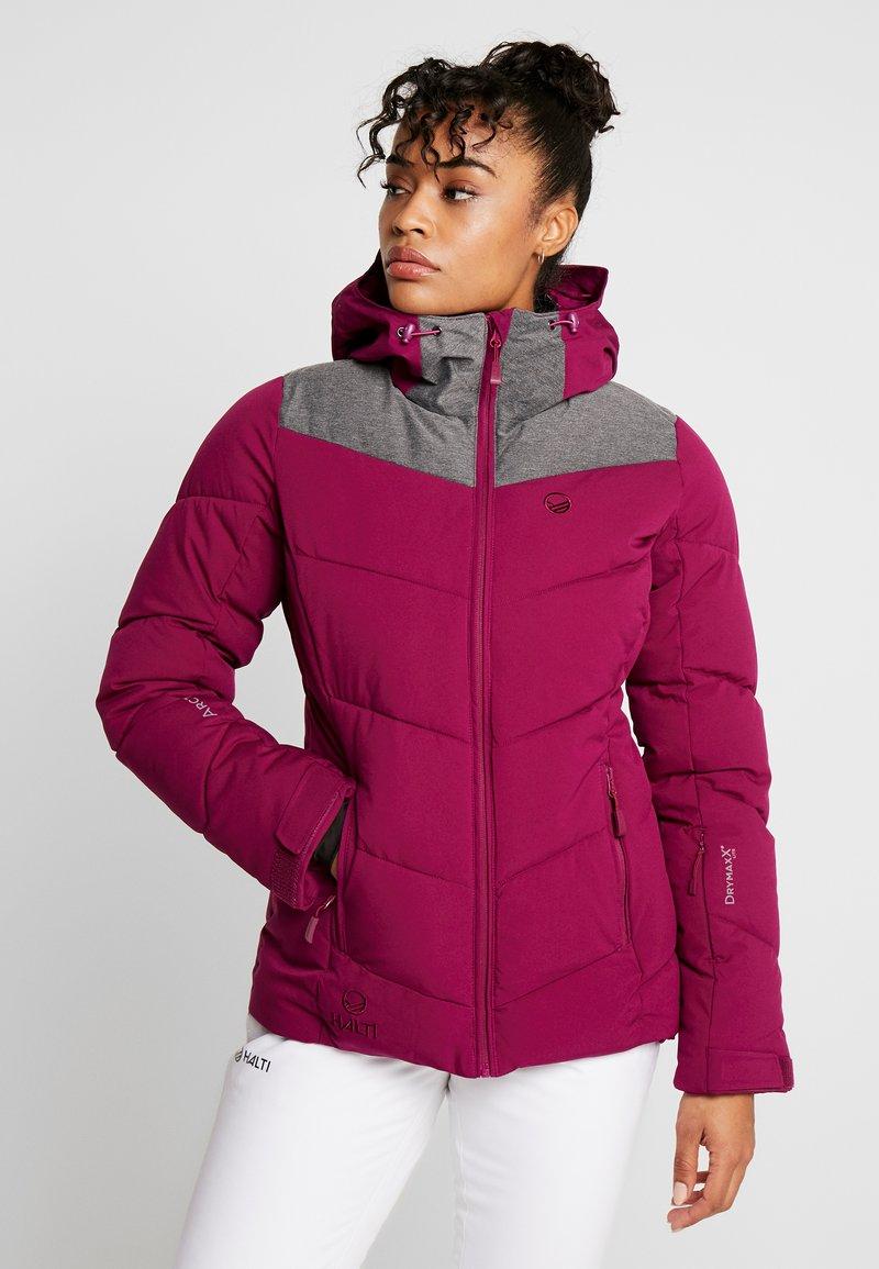 Halti - SAMMU SKI JACKET - Ski jas - magenta purple