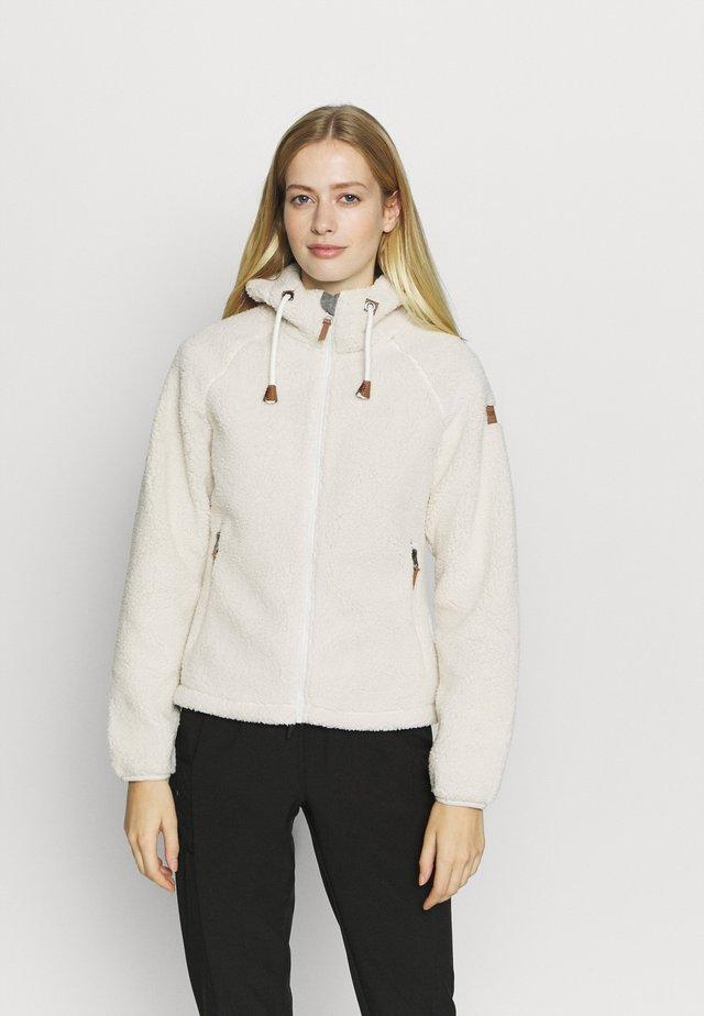 VIAREGGIO - Fleece jacket - natural white