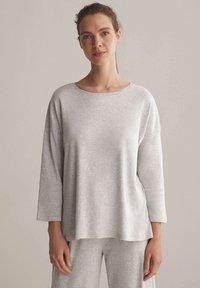OYSHO - Pyjama top - light grey - 0