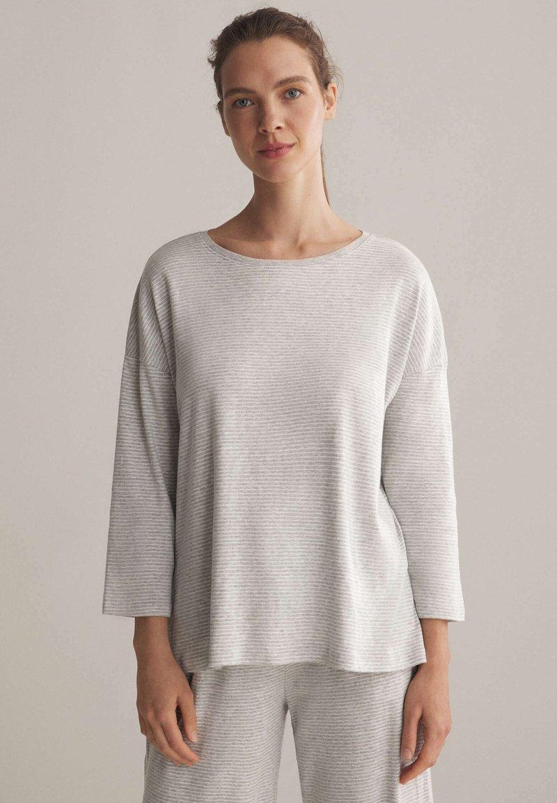 OYSHO - Pyjama top - light grey