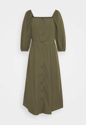 VMKARINA SQUARE DRESS  - Shirt dress - ivy green