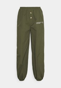 Missguided - SPORTING CLUB JOGGER - Tracksuit bottoms - khaki - 3